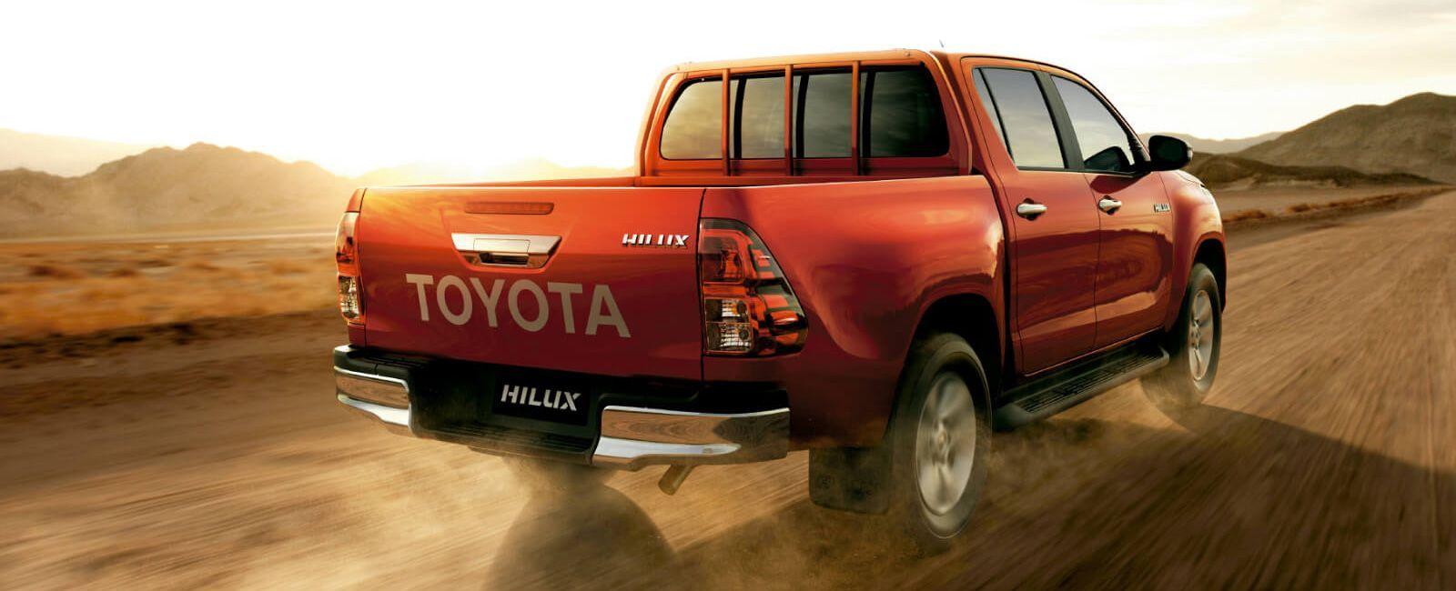 Camioneta Toyota Hilux para rentar